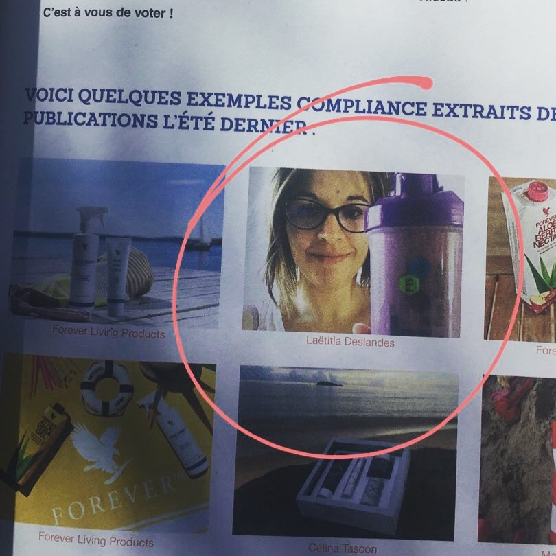 laetitia deslandes magazine été 2018 forever