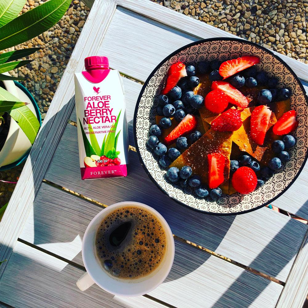 5 idées de petits déjeuners sains d'été